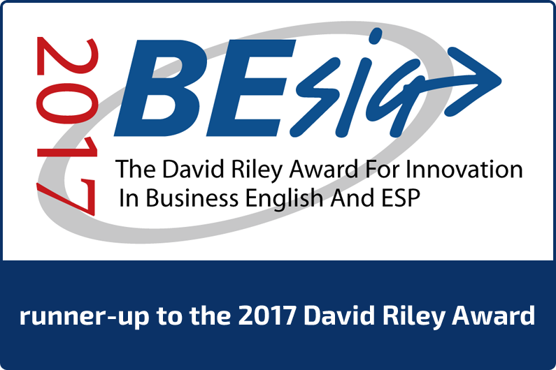 runner-up to 2017 david riley award