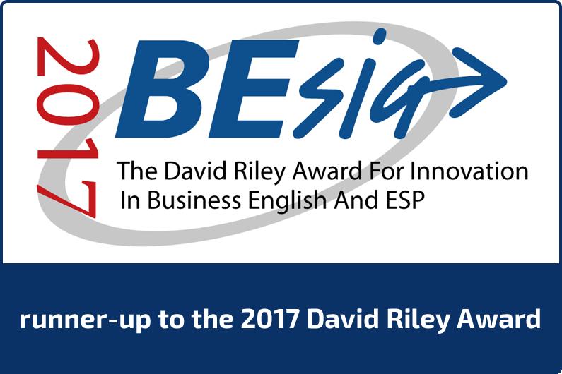 runner-up to 2017 david riley award